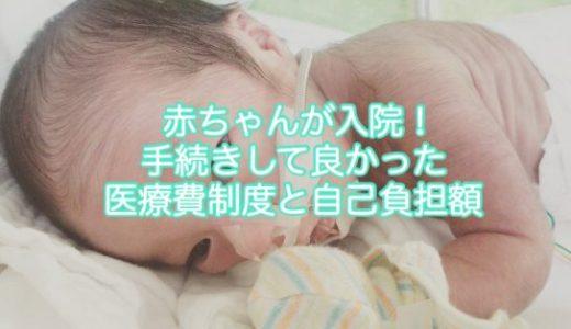 早産で赤ちゃんが入院!手続きしてよかった医療費制度と自己負担額